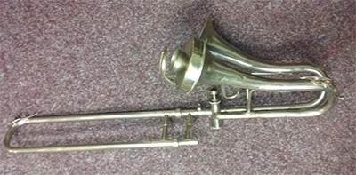 Adler Trombone; Sopra