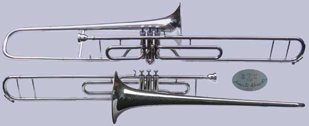 Amati Trombone; valve