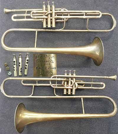 Besancon Trombone; Valve