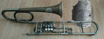 Bohland-Fuchs Trombone; Valve