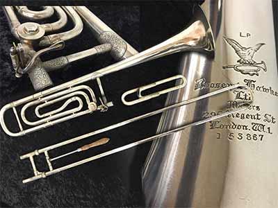 Boosey-Hawkes Trombone; Bass