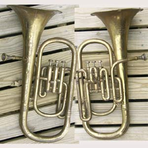 Brass Conn Elkhart Baritone Horn To Win Warm Praise From Customers Baritones