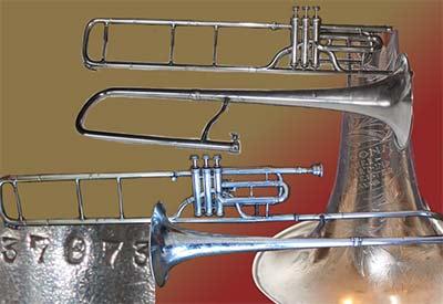 Conn  Trombone; Valve