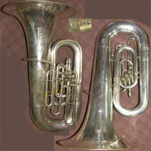 Double Cup  NEW in box Genuine Parduba 73 Silver Tuba Mouthpiece
