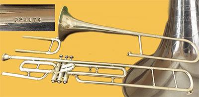 Wurlitzer Trombone; Valve