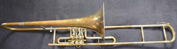 Dehmal Trombone; valve