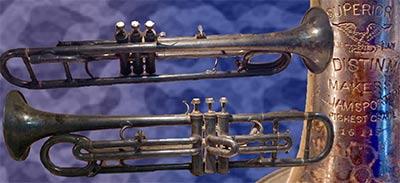 Distin  Trumpet; Bass
