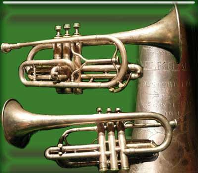 Elkhart Musical Inst Co Cornet