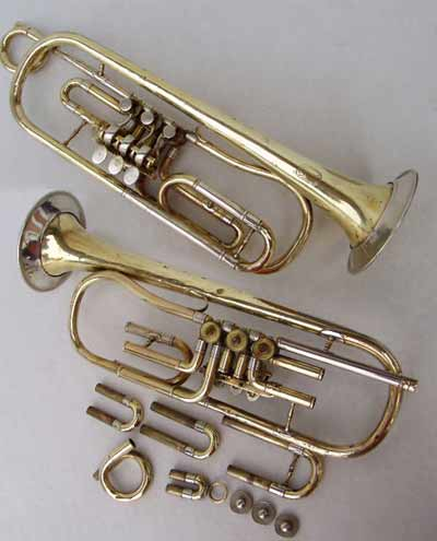Glassl Trumpet; Low