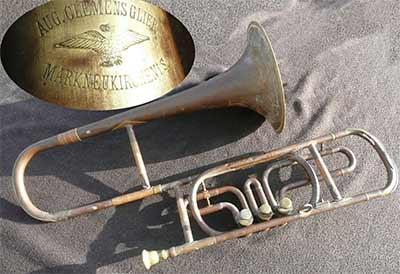 Glier Trombone; Valve