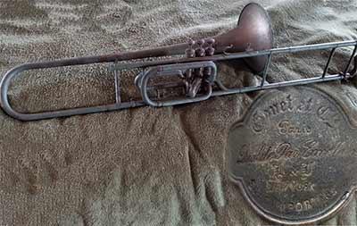 Gonet Trombone; Valve