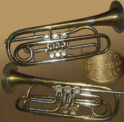 Huttl Trumpet; Low