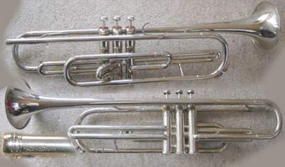 Kuhnl-Hoyer Trumpet; Low