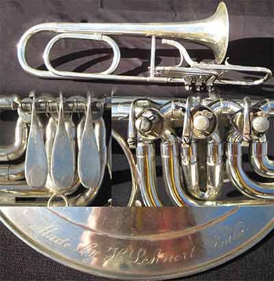 Lehnert Trombone; Valve