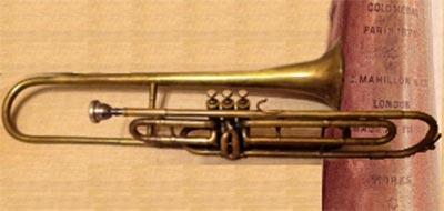 Mahillon Trombone; Valve