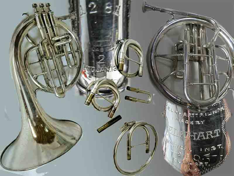 Elkhart Musical Inst Co Mellophone