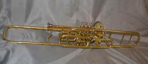 Millereau Trombone; valve