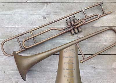 Panny Trombone; Valve