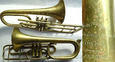 Pelisson Trombone; Valve