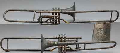 Brisson  Trombone; Valve