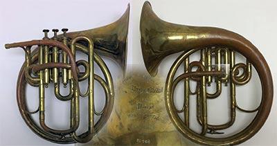 Rudall-Carte Vocal horn