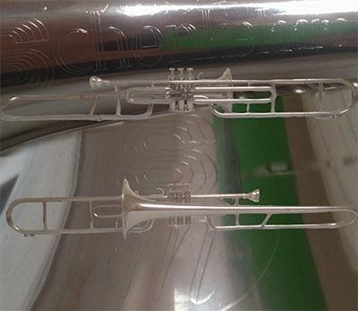Schenkelaars Trombone; Valve
