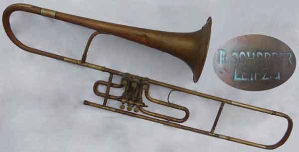 Schopper Trombone; valve