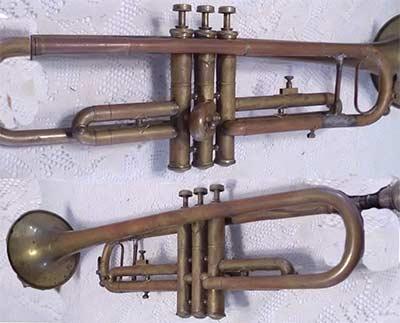 US Band Trumpet