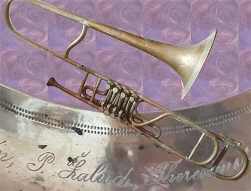 Zalud Trombone; Valve