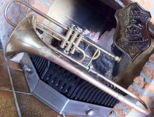 Hampe Trombone; valve