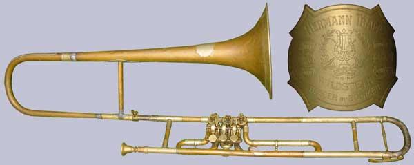 Trapp Trombone; valve