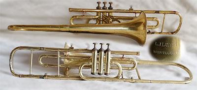 Lavest Trombone; Valve