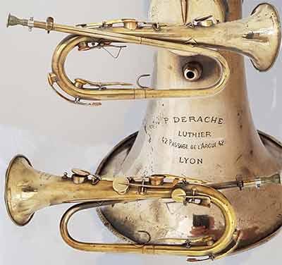Derache Bugle; Keyed