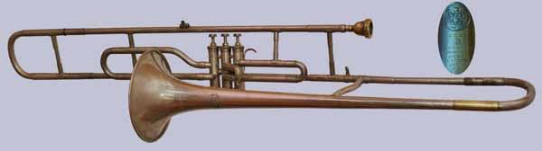 deVries Trombone; valve