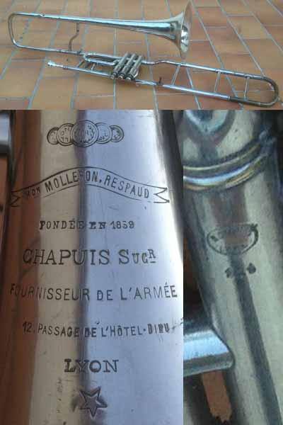 Chapuis Trombone; Valve
